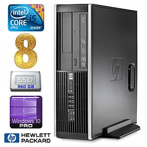 HP 8100 Elite SFF i5-650 8GB 960SSD DVD WIN10Pro
