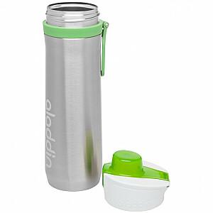 Pudele-termoss Active Hydration Thermavac 0,6L nerūsējošā tērauda zaļa