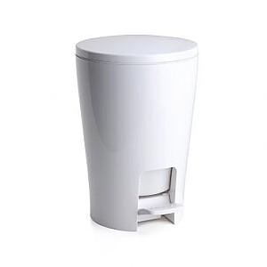Vannas istabas pedāļspainis 5L Diabolo balts