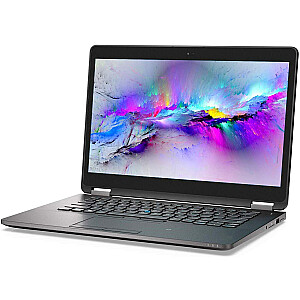 """DELL E7470 14"""" QHD Touch 2560x1440 i5-6300U 8GB 256SSD M.2 WIN10Pro RENEW"""