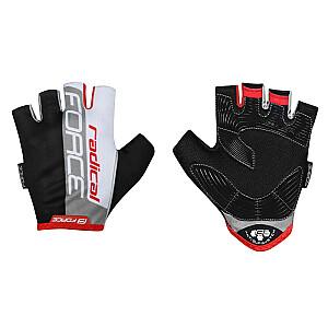 Cimdi Force Radical Black/White/Red XL izm.
