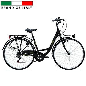 """Sieviešu pilsētas velosipēds Esperia 6250 TRK.28 ALU 6V TZ50 Black (Rata izmērs: 28"""" Rāmja izmērs: 20"""")"""