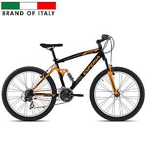 """Vīriešu kalnu velosipēds Esperia Full 26 21V TX35 Orange (Rata izmērs: 26"""" Rāmja izmērs: 16"""")"""