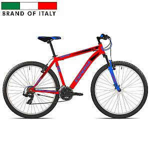 """Vīriešu kalnu velosipēds Esperia 27.5 V-Brake TZ500 21V Red (Rata izmērs: 27.5"""" Rāmja izmērs: 17"""")"""