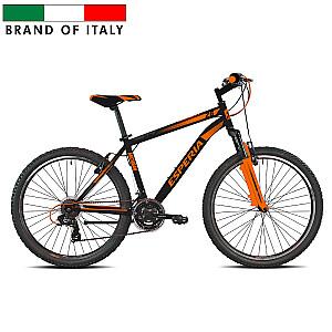 """Vīriešu kalnu velosipēds Esperia 8250 26 GRIP TZ500 21V Black/Orange (Rata izmērs: 26"""" Rāmja izmērs: 17"""")"""