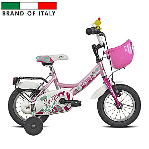 "Bērnu velosipēds Esperia 9900 Mascotte MTB12 Pink (Rata izmērs: 12"")"