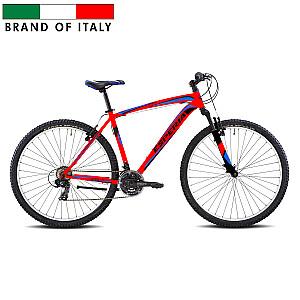 "Vīriešu kalnu velosipēds Esperia 29 Rouge ACC.21V TY300 V-Brake Red (Rata izmērs: 29"" Rāmja izmērs: 16"")"
