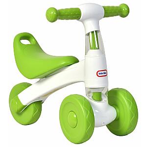 Trīsriteņu velosipēds - skejritenis Little Tikes White/Green