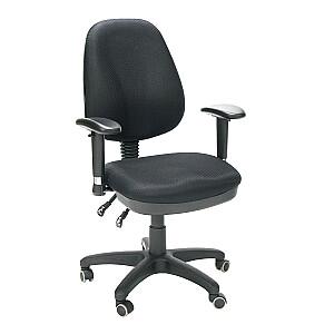 Biroja krēsls SAVONA, melns