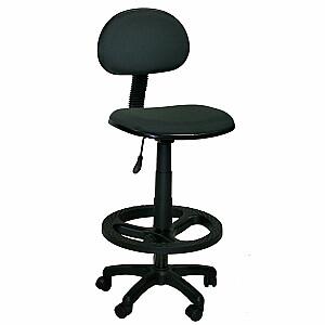 Augsts biroja krēsls BIELLA, pelēks