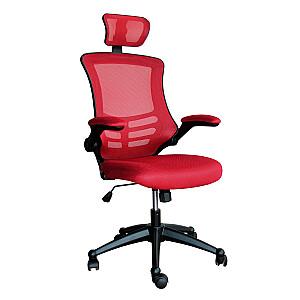 Biroja krēsls RAGUSA 66,5x51xH117-126cm, sarkans