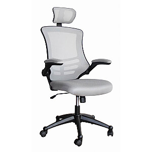 Biroja krēsls RAGUSA 66,5x51xH117-126cm, pelēks