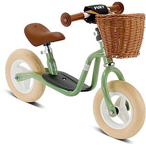 Līdzsvara velosipēds (skrejritenis) Puky LR M Classic retro zaļš (4093)