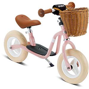 Līdzsvara velosipēds (skrejritenis) Puky LR M Classic retro rozā (4094)