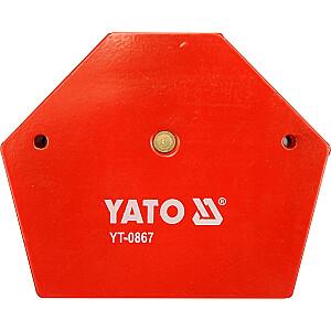 Yato metināšanas magnētiskais kvadrāts 111x136x24mm 34kg (YT-0867)