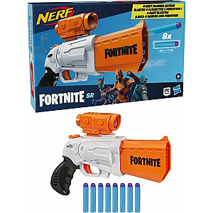 Hasbro Nerf Fortnite SR palaidējs ar sietiņu + 8 šautriņām (E9391)