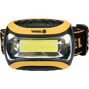 Vorel COB LED priekšējais lukturis 3W (88676)