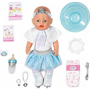Zapf Interactive Doll Baby Born Soft Touch Ballerina Girl 43 cm ar aksesuāriem