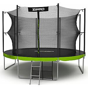 Zipro Garden batuts ar 12FT 374cm iekšējo tīklu + BEZMAKSAS apavu soma!