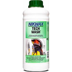 Nikwax Tech Wash 1L (NI-41) lietusmētelis un rīku tīrīšanas līdzeklis