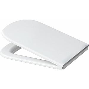 Tualetes sēdeklis Cersanit Color, maigi aizverams balts (K98-0092)