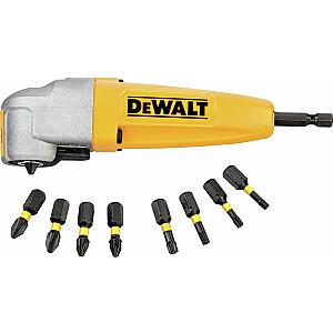 Dewalt vērpes trieciena leņķa adapteris skrūvēšanai (DT71517T)