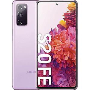 Samsung Galaxy S20 FE 128GB Dual SIM viedtālrunis violets (SM-G780FLV)