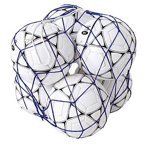 Tīkls 6 bumbiņām FIL6 zils