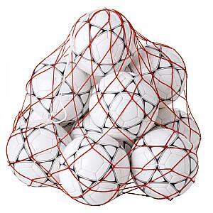 Tīkls 10 bumbiņām FIL10 sarkans