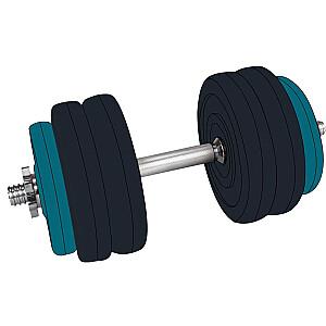 Hanteles maiņa svars 15kg 42DF sintētisks