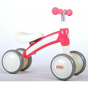 Līdzsvara velosipēds QPlay Cutey Ride On Rose