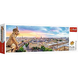 TREFL Panorāmas puzle Parīzes Dievmātes katedrāle, 1000 gb.