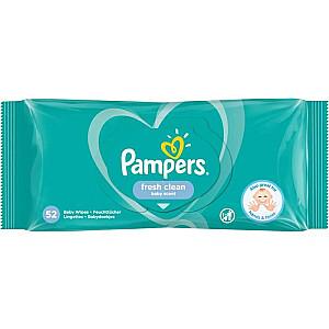 Pampers Pampers salvešu komplekts Pampers FreshClean salvetes 52 (52)