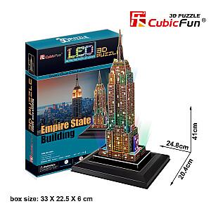 """3D puzle Ņujorkas debesskrāpis """"Empire State Building"""""""