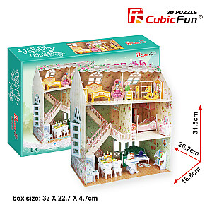 3D Leļļu māja Dreamy