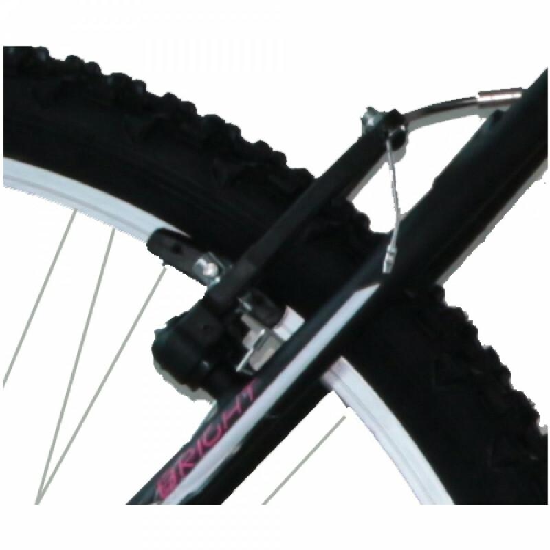 """Frejus MTB LADY velosipēds – melns ar rozā (Rata izmērs: 26"""")"""