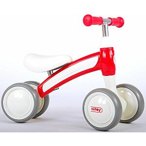 Balance ritenis - skrejritenis  QPlay Cutey Ride On Balance Bike - Boys and Girls - Red