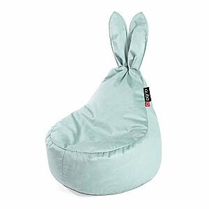 Qubo™ Baby Rabbit Menthe VELVET FIT sēžammaiss pufs
