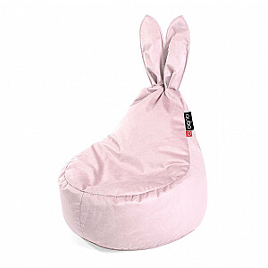 Qubo™ Baby Rabbit Petale VELVET FIT sēžammaiss pufs