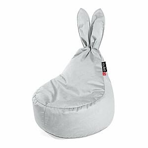 Qubo™ Baby Rabbit Lune VELVET FIT sēžammaiss pufs