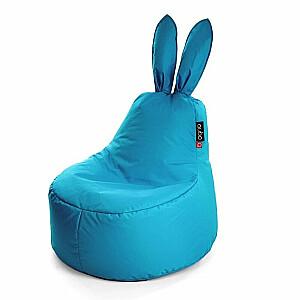 Qubo™ Baby Rabbit Wave Blue POP FIT sēžammaiss pufs