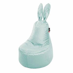 Qubo™ Mommy Rabbit Menthe VELVET FIT sēžammaiss pufs