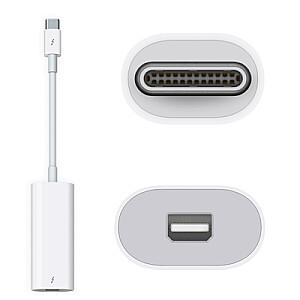 Apple Thunderbolt 3 USB-C - Thunderbolt 2 adapteris