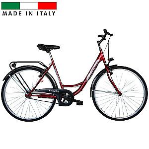 Sieviešu pilsētas velosipēds Frejus Olanda Venere Lady - sarkans (Rata izmērs: 26'')