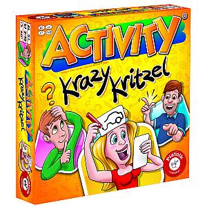 Spēle Activity Jestrie zīmējumi, multi val.