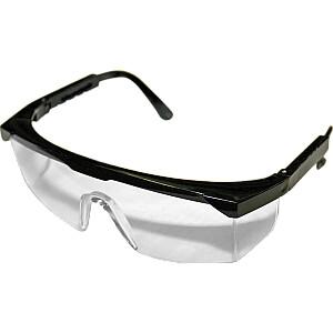Aizsargbrilles ar regulej. kājiņām CE