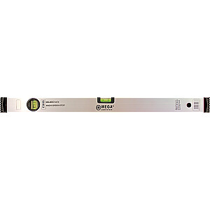 Līmeņrādis Mega 1200mm 2 indik. 1mm/m