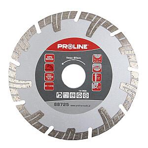 Dimanta disks PTT 125x22mm turbo T Proline