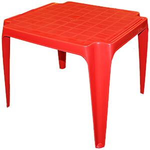 Galds bērnu 56x52x44cm sarkans