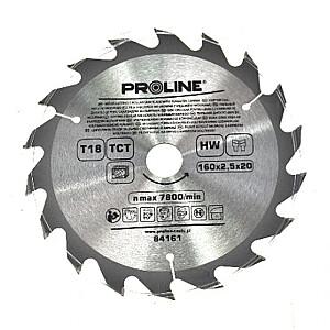 Zāģripa D160x20/16mm 18zobi Proline